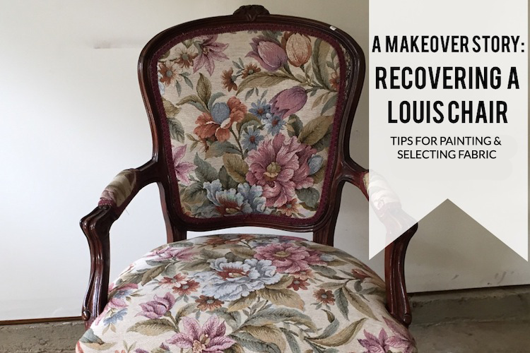 A Makeover Story: Louis Chair Part II