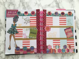 scrapbook journaling in the happy planner