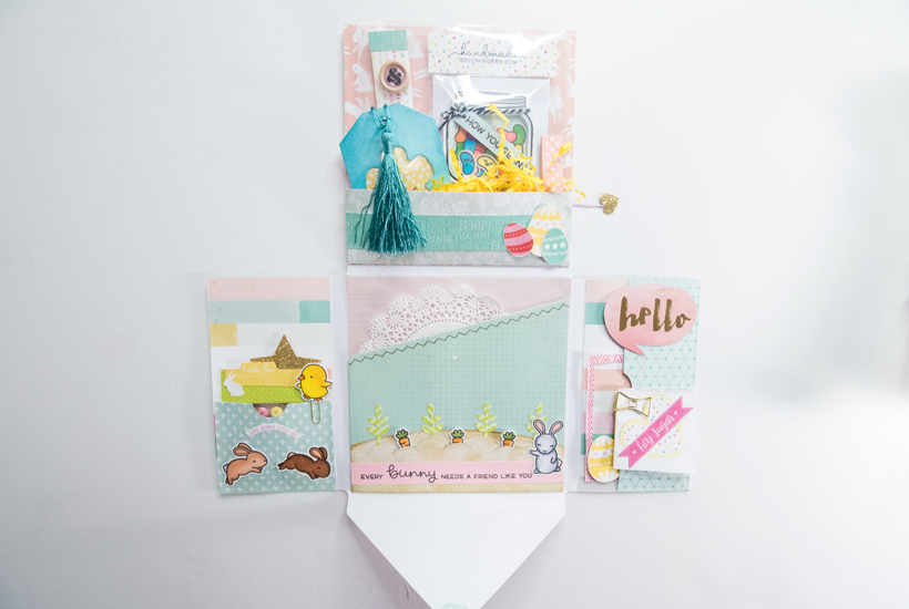 Spring Themed Loaded Envelope (video)