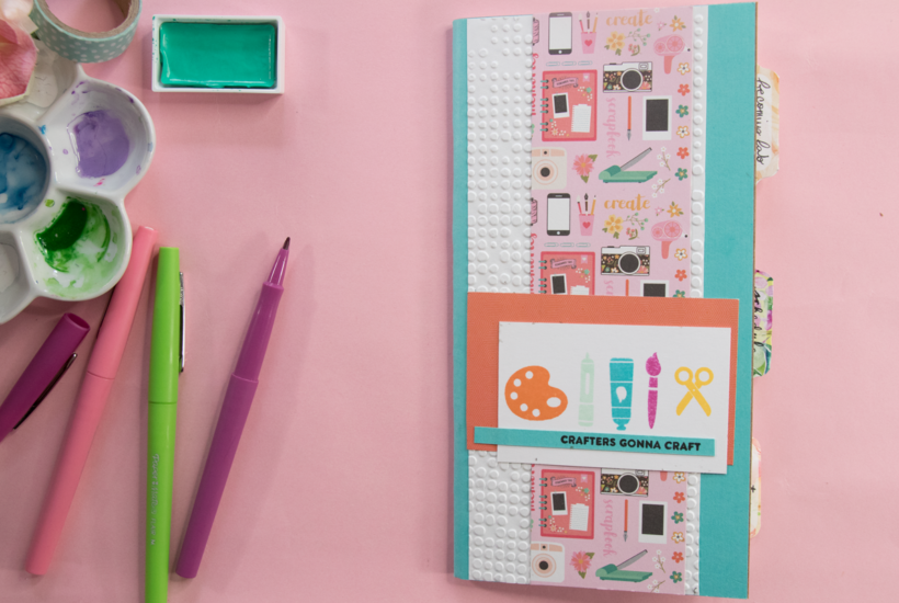 How To Decorate A Travelers Notebook Insert
